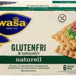 Knekkebrød Naturell Gluten- og laktosefritt