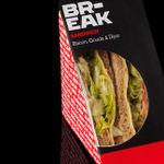 BR-EAK Sandwich: Bacon, gouda & dijon