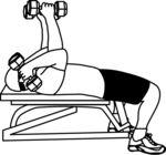 Liggende triceps extension m/manualer