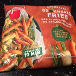 Sprøbakte grønnsaksfries