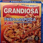 Grandiosa Fredagspizza - KiMs sprø potetchips og kjøttdeig