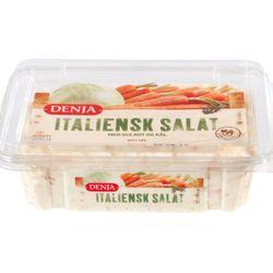 Italiensk salat med gulrot og kål
