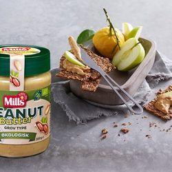 Peanut butter, grov type