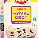 Bjørn Havregrøt (rosin & vaniljesmak)
