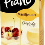 Vaniljesaus, Piano