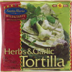 Herbs & Garliv Wrap Tortilla
