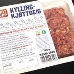 Kjøttdeig av kylling og kalkun