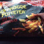 Opphøgde poteter sprø rotgrønnsaker