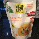 Thaisuppe med grønnsaker og fløte