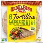 Tortillas whole wheat Old el paso