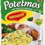 Potetmos med melk og gressløk (pulver)