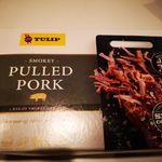 Smokey pulled pork