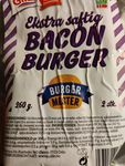 Ekstra saftig bacon burger