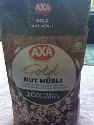 Axa gold nut müsli