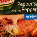 Kremet peppersaus