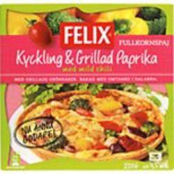 Kylling & Grillede Paprika, Fullkorn pai