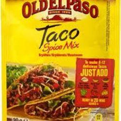 Taco krydder Old el paso
