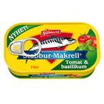 Makrellfilet i tomatsaus MBasilikum 110g