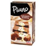 Sjokoladepudding, Piano