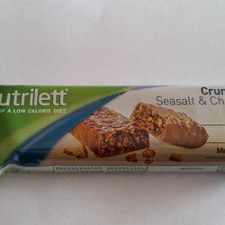 Nutrilett Crunch bar seasalt & chocolate