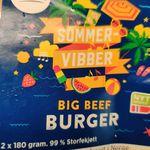 Big Beef Burger (sommervibber) 99% storfekjøtt