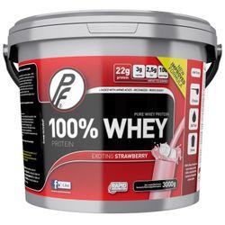 100 % Whey protein jordbær
