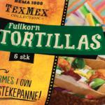 Fullkorn Tortillas