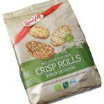 Økologiske Crisp Rolls Fiber skorpor