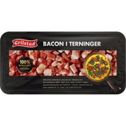 Bacon i terninger