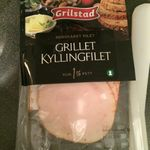 Grillet kyllingfilet
