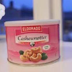 Cashewnøtter,ristet uten salt