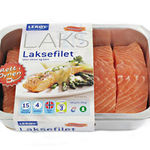 Laksefilet naturell Rema 1000