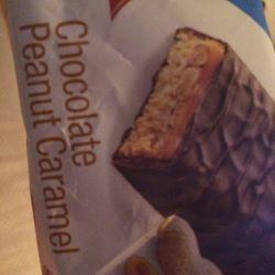 Atkins chocolate Peanut Caramel