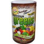 Delicious Greens 8000, Chocolate Flavor