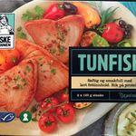 Tunfisk, rå