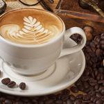 Cappuccino, h-melk (dobbel = 80ml = 80g)
