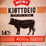 Kjøttdeig (storfe 100%)