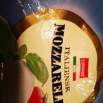 Italiensk mozarella