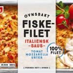 fiskefilet i italiensk saus