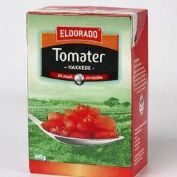 Tomater, hakkede