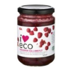 IEco Ekologisk hallonsylt bringebær syltetøy